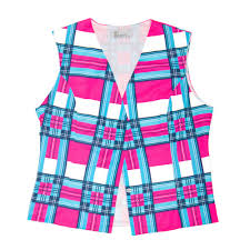 pink tartan pink tartan reflective waistcoat hey reflect o