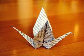 paper crane decor florenceitalia