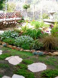 Landscape Flower Bed Ideas by Landscaping Around Fountains Fountain Garden With Low Water