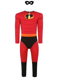 incredibles costume disney the incredibles mr fancy dress costume