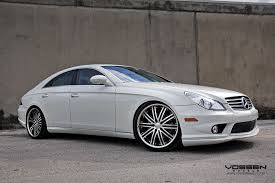 mercedes amg 550 cls mb cls550 carlson kit carlson exhaust and vossen wheels