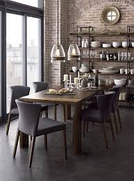 Industrial Dining Room by Eclectic Dining Room With Concrete Floors U0026 Pendant Light Zillow