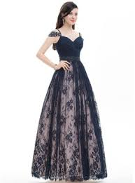 ball gown sweetheart floor length lace prom dress with ruffle