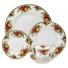 royal albert country roses dinner set 20pce s of