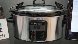 wifi cooker black decker adds wi fi to a slow cooker cnet