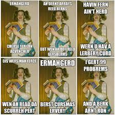 Berks Girl Meme - living the meme what happened to the ermahgerd girl
