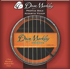 amazon com dean markley 3018 promag grand gold acoustic guitar