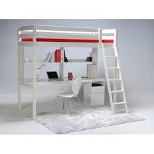 lit superposé avec bureau pas cher lit mezzanine avec bureau pas cher places mi hauteur metal conforama
