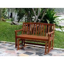 Outdoor Furniture Finish by Jordan Manufacturing Alpine 4 Ft Outdoor Loveseat Glider Hayneedle