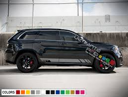 jeep grand cherokee stickers sport decal sticker vinyl side racing stripe kit compatible with
