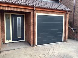 Sectional Overhead Door by Hormann M Rib Sectional U0026 An Rk4090 Anthracite Grey With Cream