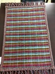 cotton chindi rugs cotton multi chindi rug checkered chindi rugs