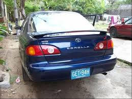 toyota corolla 2001 s toyota corolla 2001 s model for sale price reduced 1 18mil