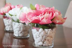 Pictures Of Vases With Flowers Dollar Store Flower Vase Centerpieces How To Nest For Less
