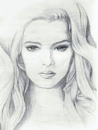 pictures easy pencil sketch of a face drawing art gallery