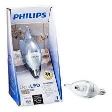 Decorative Chandelier Light Bulbs by Candelabra Philips Led Light Bulbs Light Bulbs The Home Depot