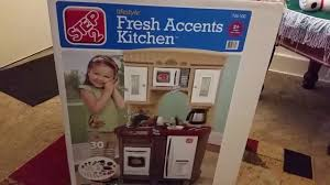 Lifestyle Dream Kitchen by Step 2 Fresh Accents Kitchen Unboxing Youtube