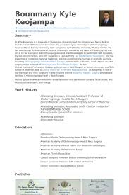 Resume Examples Dental Assistant by Surgeon Resume Samples Visualcv Resume Samples Database
