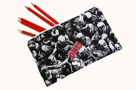 Halloween Walking Dead Makeup by The Walking Dead Pencil Case Perfect Halloween Gift Or