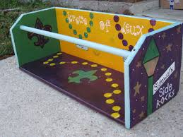 mardi gras ladders mardi gras ladder seat artwork gris gris stand out in a