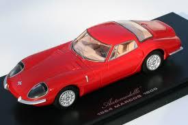 Ferrari F12 2008 - marcos 1800 lhd in racing car show red 1 43