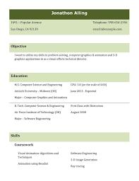 B Tech Fresher Resume Fresher Resumes Format It Resume Cover Letter Sample