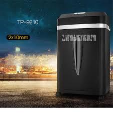 broyeur papier bureau 9210 20l électrique mini broyeur file shredder bande bureau maison