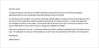 thank you email after interview samples