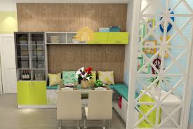 decor wall partition design photos with dining banquettee and
