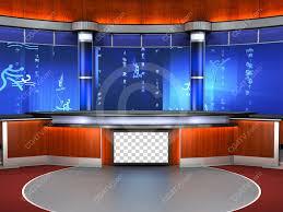 camera 4 sport set background for sports news
