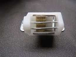 Cord Lock Roman Shade - rowley roman shade cord lock small white 2 wires 3 slots ebay