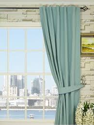 moonbay plain back tab cotton curtains cheery curtains ready