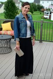 maxi dress denim jacket u2013 woman best dresses