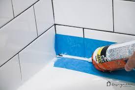 Best Caulk For Bathtub How To Caulk A Bathtub A Cautionary Tale Designer Trapped In A