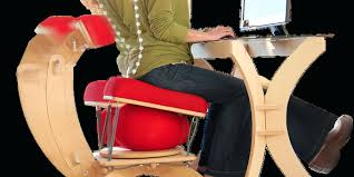 Yoga Ball Desk Chair by Desk Stability Ball Office Chair Benefits Exercise Ball Desk