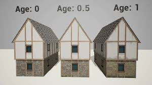 modular medieval houses by udkap in blueprints ue4 marketplace