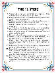12 steps of aa worksheets worksheets