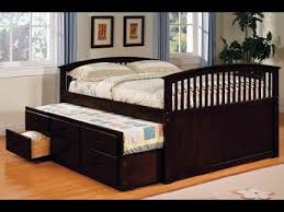 platform king bed size frame with storage ideas youtube