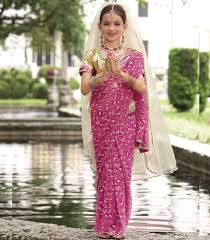 Indian Halloween Costumes Girls Indian Maharani Princess Child Costume Chasing Fireflies