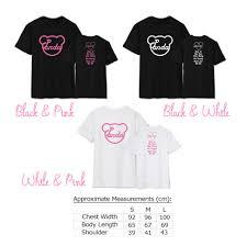 fan made t shirts apink pink memory fanmade panda shirt sgkpopper
