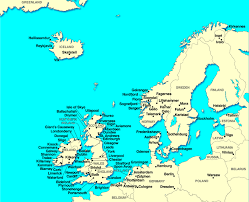 map of n europe map of western europe major tourist attractions maps