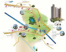 Aquatica Map Mani Casa In New Town Kolkata Price Location Map Floor Plan