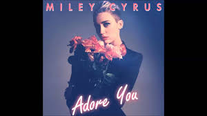 miley cyrus adore you acoustic version youtube
