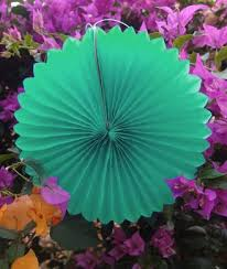 mint green tissue paper 12 cool mint green tissue paper flower rosette fan decoration 6