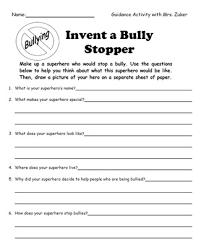 invent a bully stopper superhero education pinterest bullies