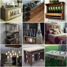50 trendy reclaimed wood furniture and decor ideas for living