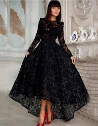 vintage black lace prom dress naf dresses