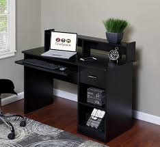 Desk For Desktop Computer by Onespace Essential Computer Desk With Pull Out Keyboard U0026 Reviews