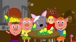 thanksgiving adventures of big bad wolf and three pigs and