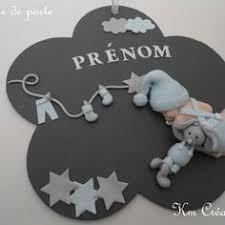 plaque de porte chambre bébé plaque de porte petit garçon et lapin en salopette création